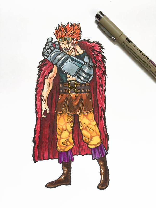 Captain Eustass Kid by gumbug