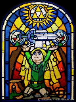 Presentation of the Sacred Blade
