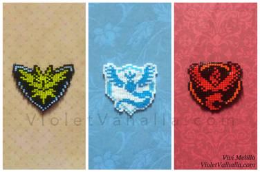 Pokemon GO - Team logo pins