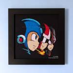 Mega Man 10 Title Screen by VioletValhalla