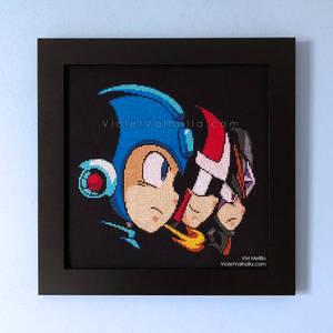 Mega Man 10 Title Screen