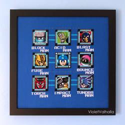 Mega Man 11 Retro Stage Select