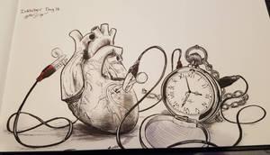 Inktober Day 15- Heart