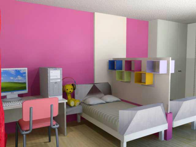 غرف نوم بناتيةةةة  Girls_bedroom_by_hera_fied