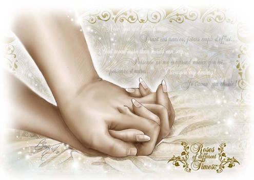 My love.... Mon amour...