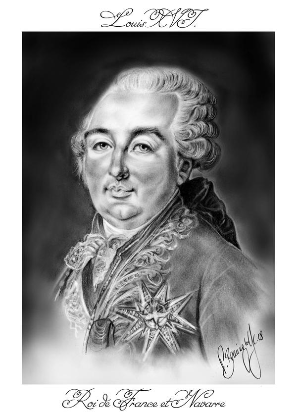 -Louis XVI. Roi de France- by RedPassion