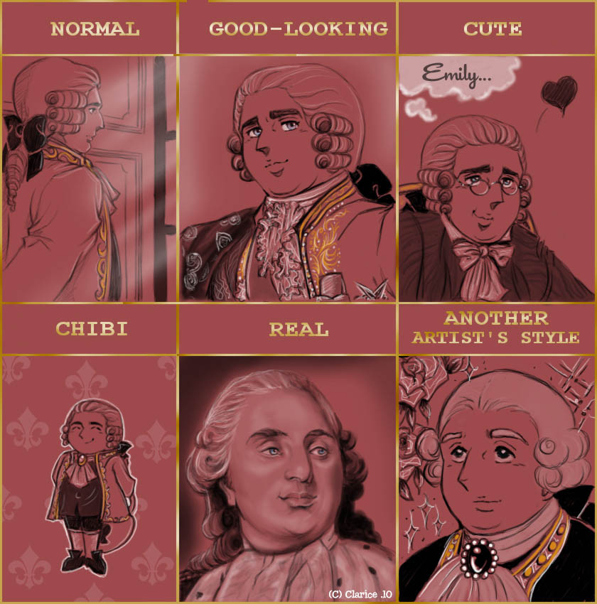 Style Meme - Louis XVI by RedPassion