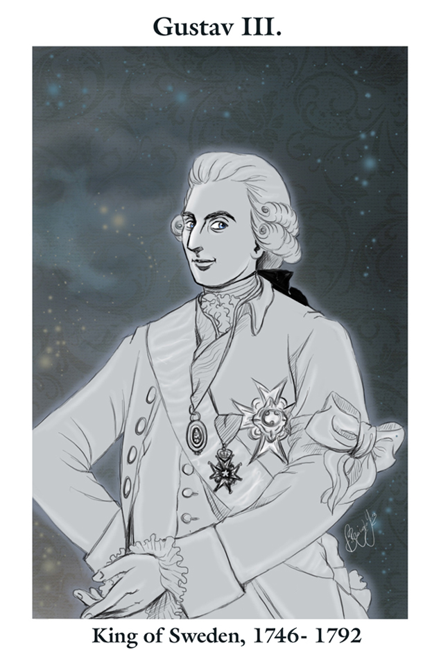 King Gustav III by RedPassion