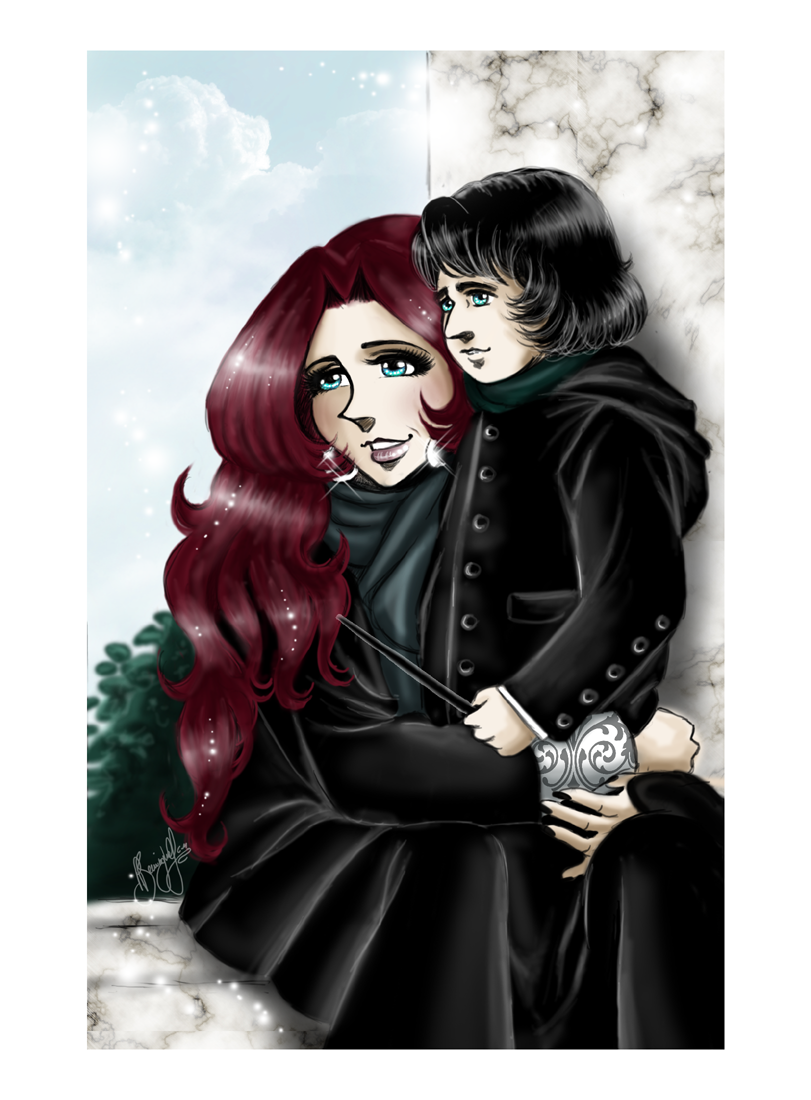 Emily and Septimus Snape by RedPassion on DeviantArt
