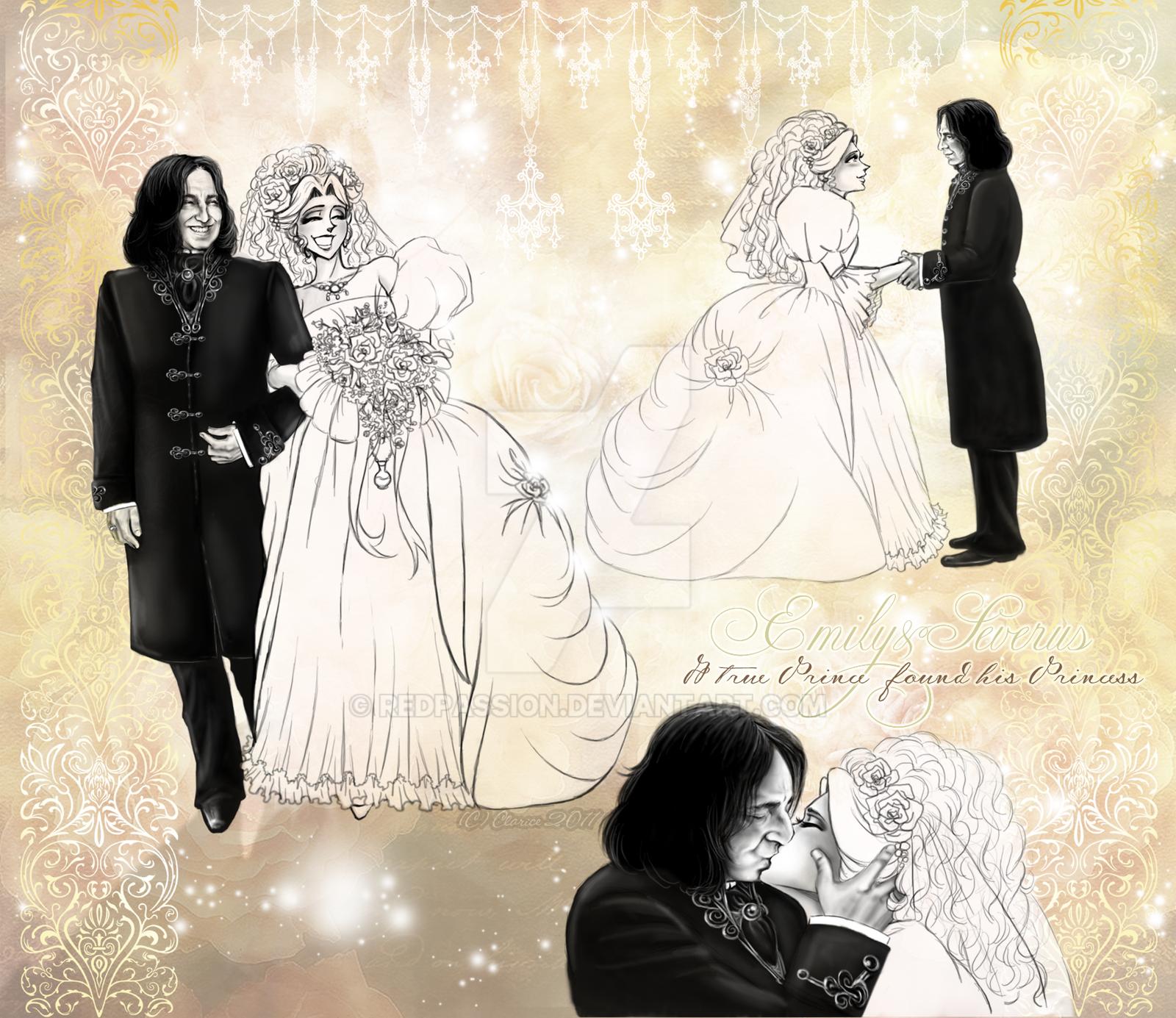 Emily+Severus-Wedding Day by RedPassion on DeviantArt