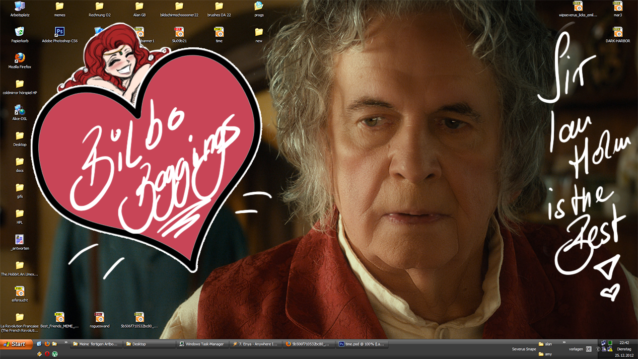Bilbo is back!! - New Desktop by RedPassion