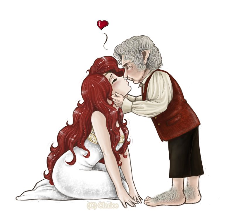 YlondraxBilbo - Sweet Chibi Kiss 2 by RedPassion on DeviantArt