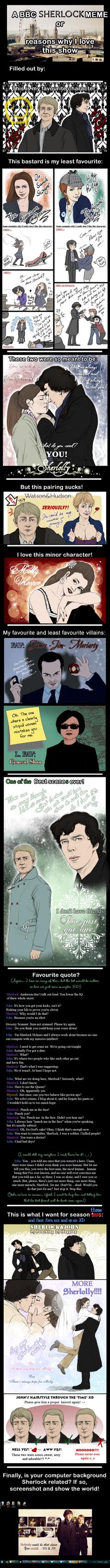 BBC Sherlock Meme by RedPassion