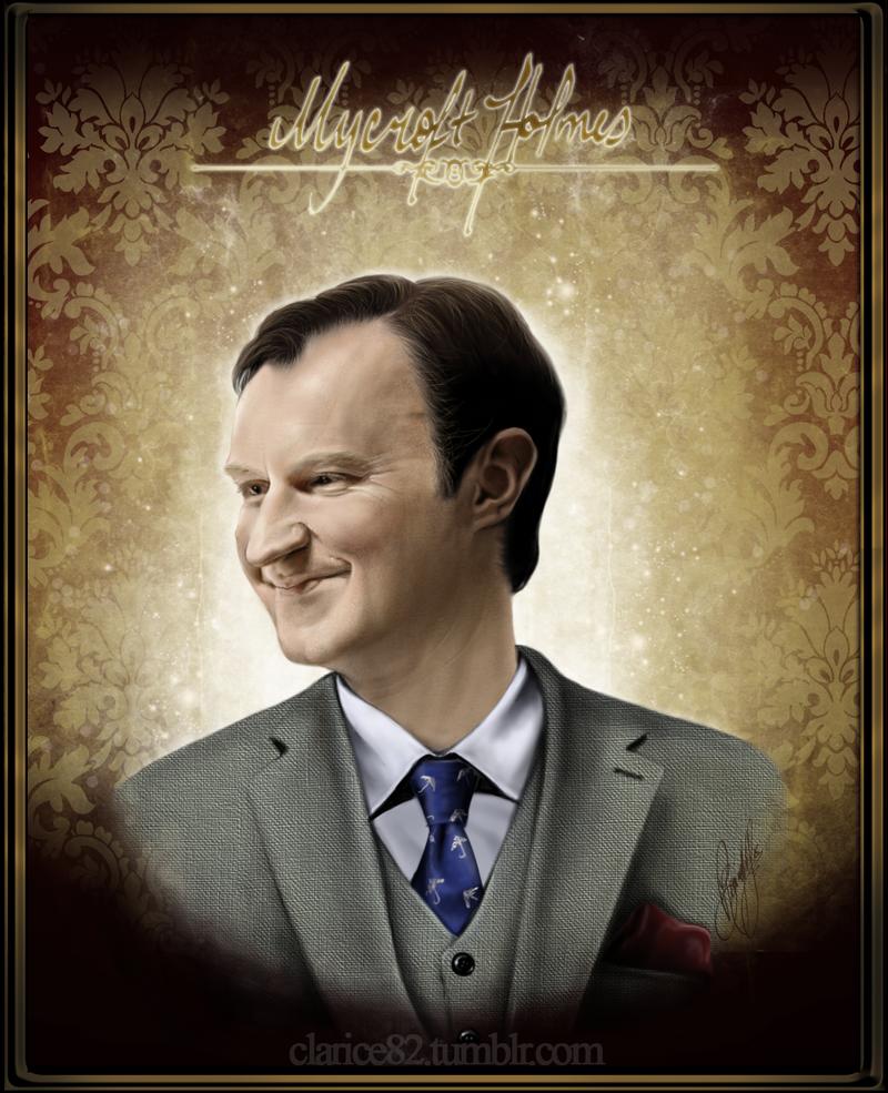 Sherlock BBC - Mycroft Holmes by RedPassion