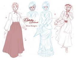 Penny Dreadful - Ophelia Dresses Sheet