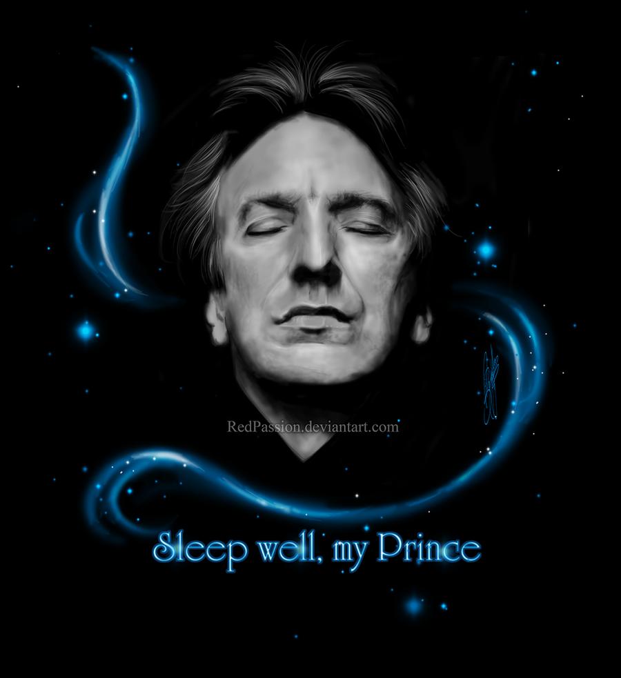 RIP - Alan Rickman - Sleep well my Prince by RedPassion