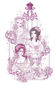 Roses de Versailles