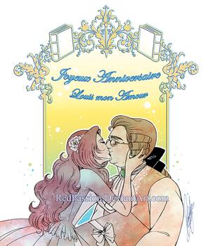 Joyeux anniversaire mon amour! 2019