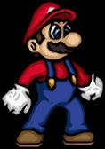 Mario hi-res sprite by ZeroShadowProject