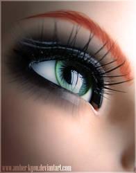 Eye: Amber by Amber-Kyou