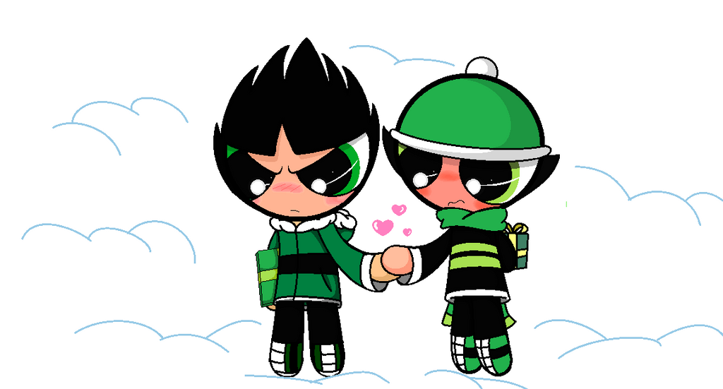 Buttercup and butch - Snow day by kaorinha123 on DeviantArt