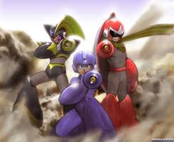 Three Cannon Boys by Manganiac