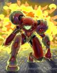 Omega Metroid suit