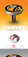 Creative touches logo by AnubisGraph