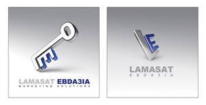 Lamasat Ebda3ia logo by AnubisGraph