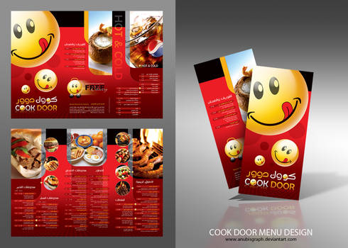 cookdoor Menu