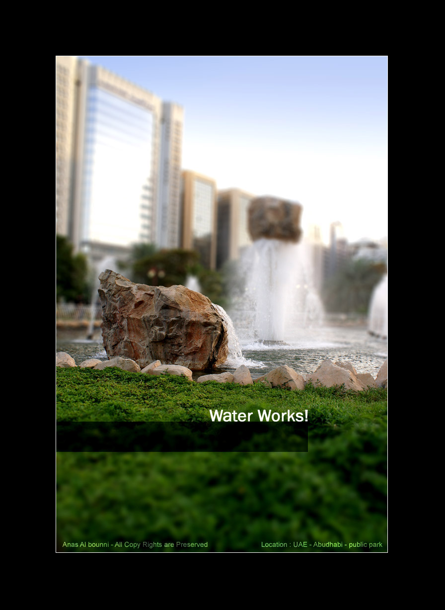 Water Works by AnubisGraph