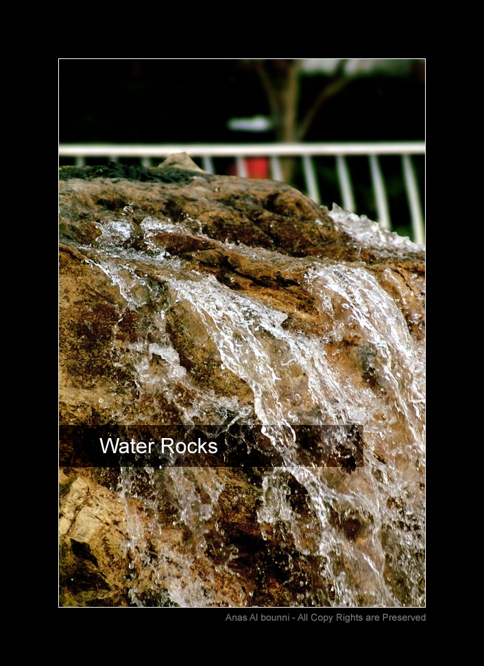 Water Rocks by AnubisGraph