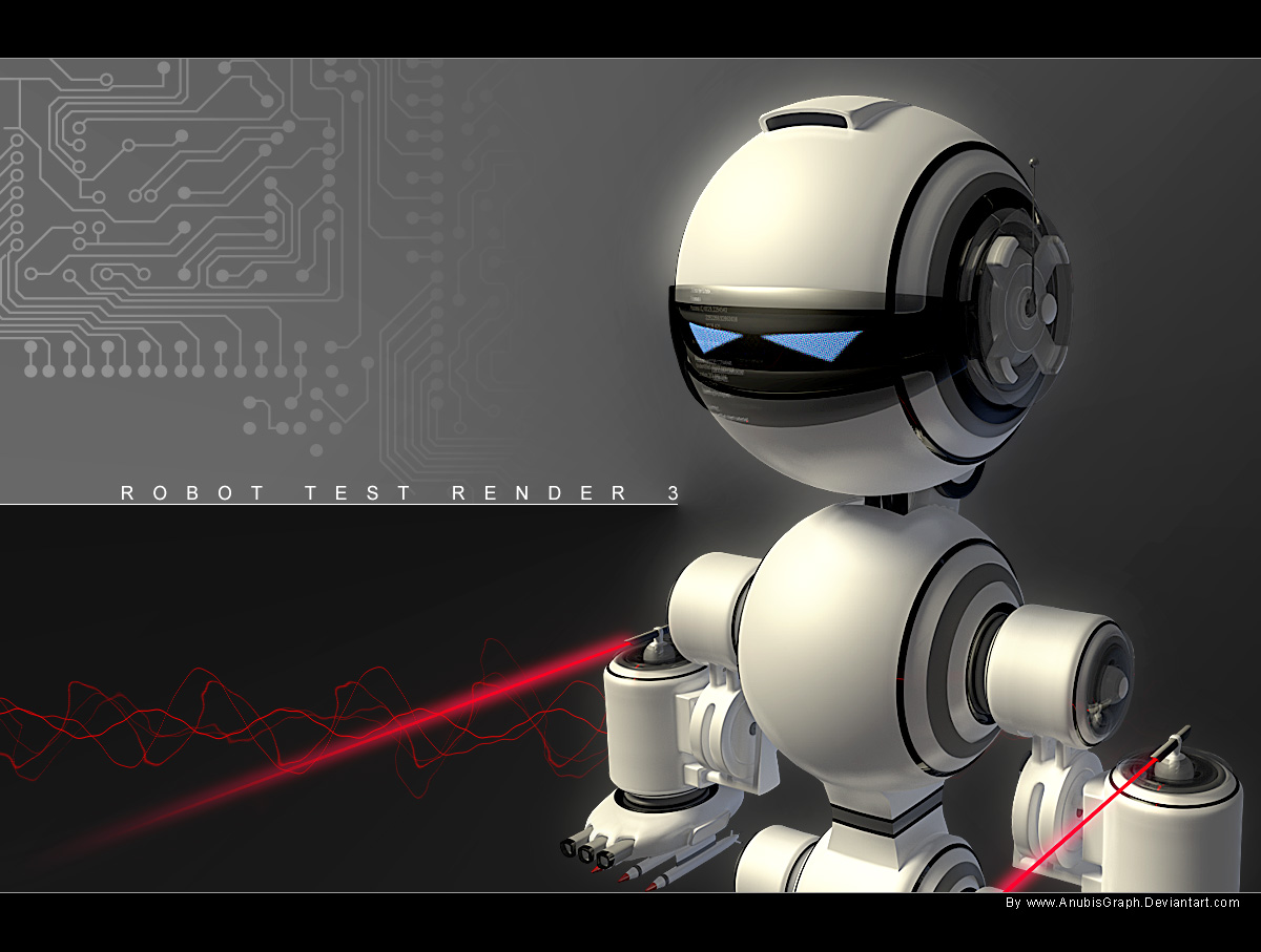 Robot Test Render V3 by AnubisGraph