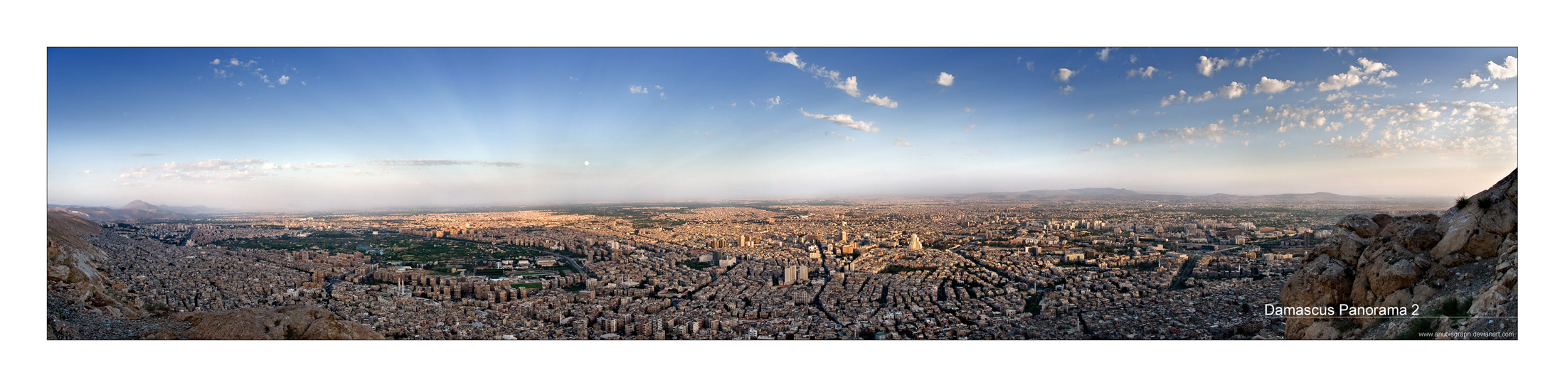 Damascus Panorama 2 by AnubisGraph