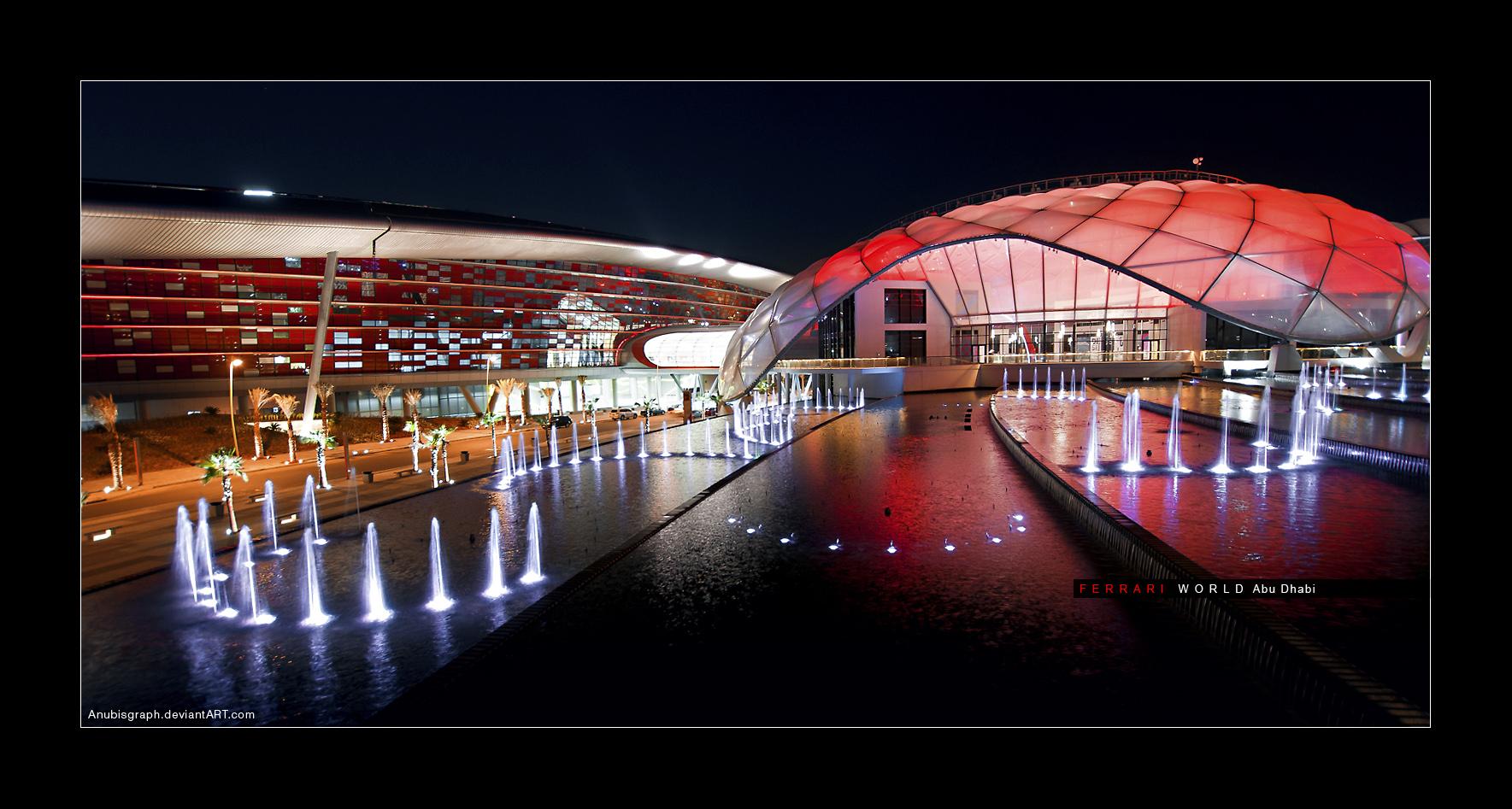 Ferrari World Abu Dhabi 4 by AnubisGraph on DeviantArt