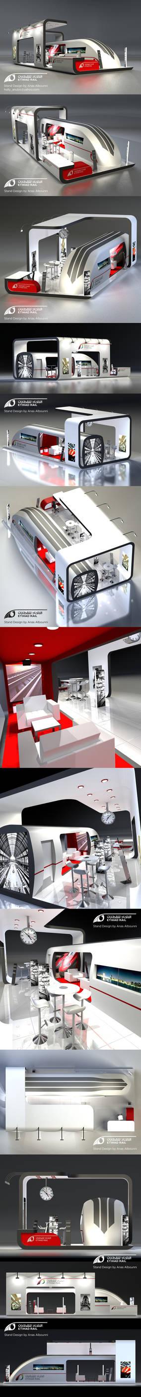 Etihad Rails Stand Design