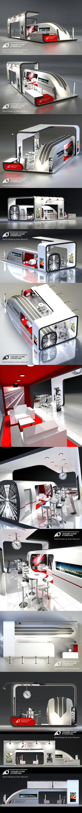 Etihad Rails Stand Design by AnubisGraph