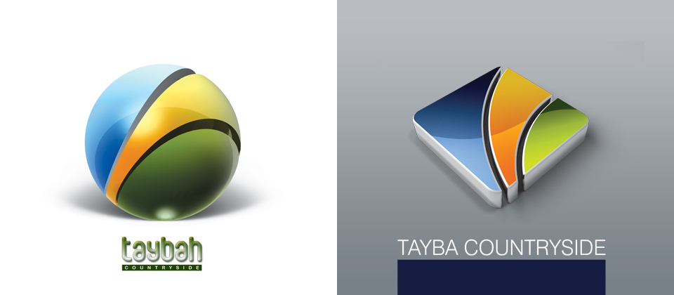 Taybah countryside logo by AnubisGraph High Quality Clear & Concise Logo Designs: Taken From DeviantART