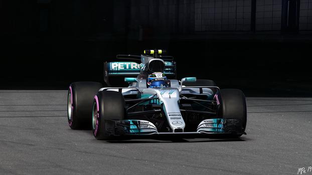F1 W07 Hybrid Mercedes AMG Petronas