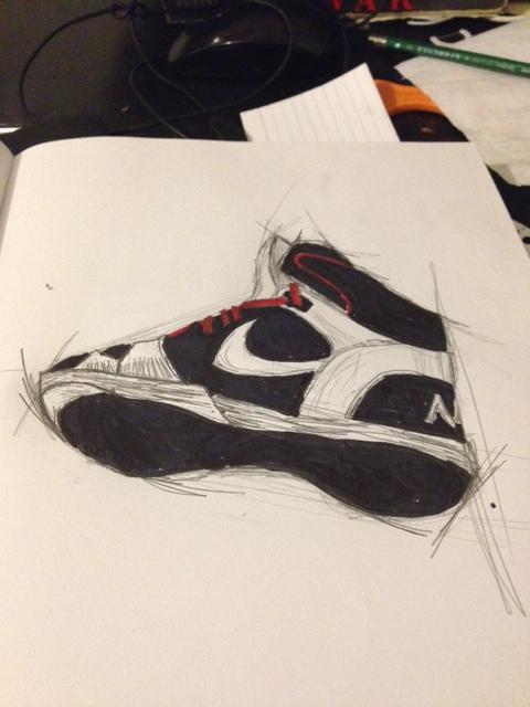 SneakerSketch by komodovis