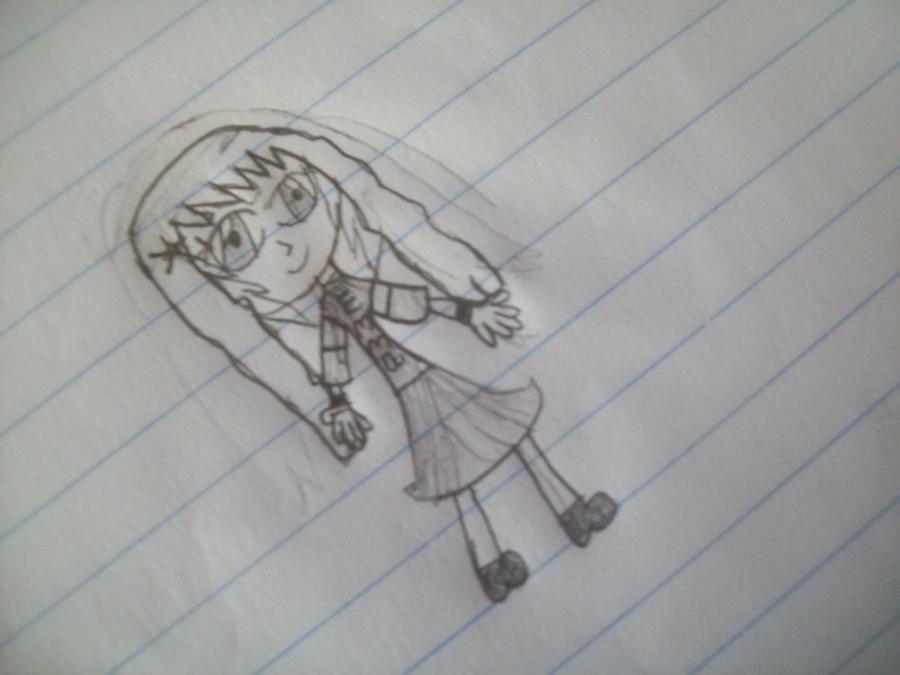 Anime Drawing Of My Best Friend Emma By Vampire Yuki Kuran