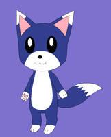 Blue Fox by Kitsune257