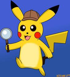 Detective Pikachu by Kitsune257