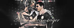 Messi And schweinsteiger
