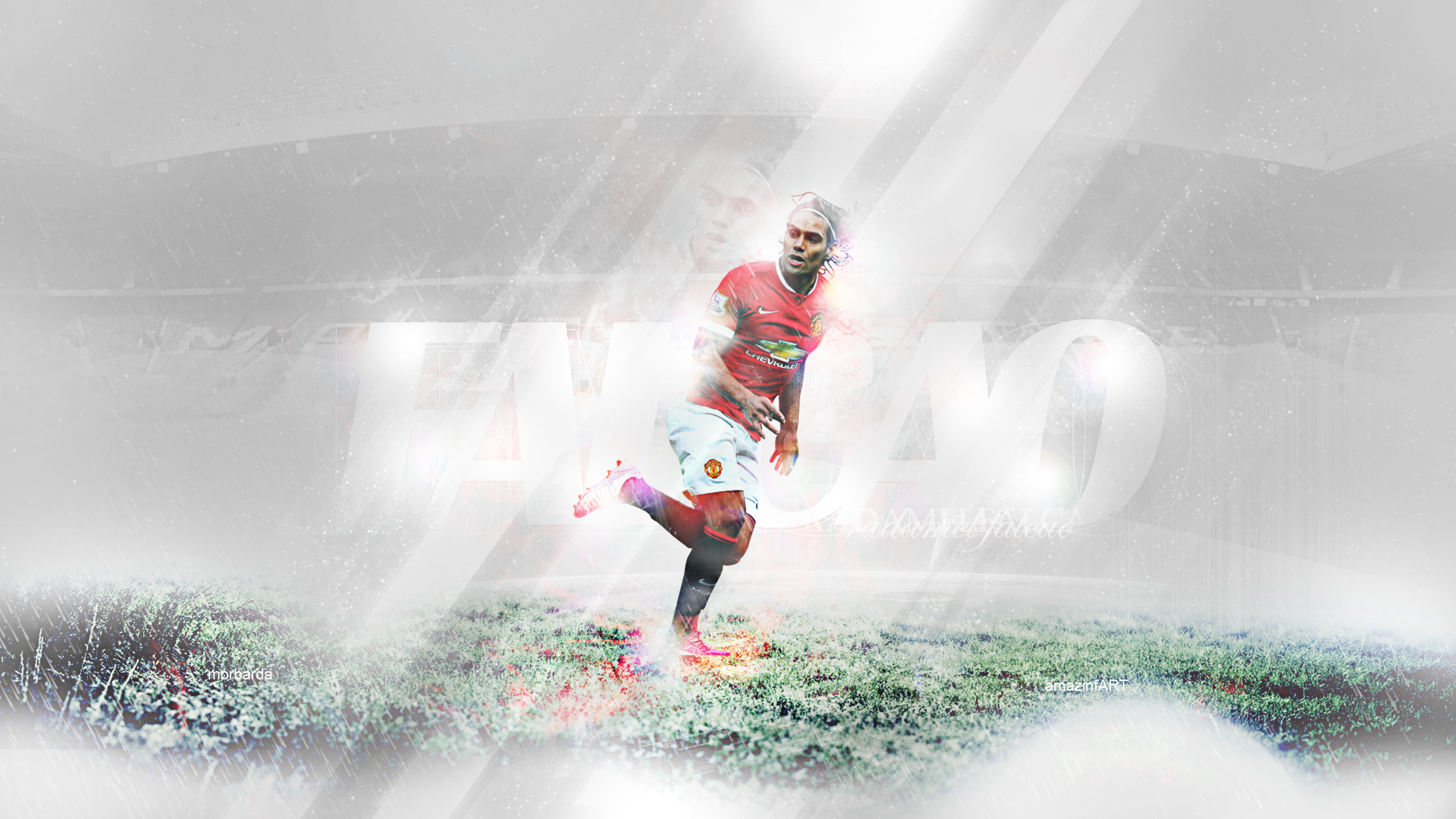radamel falcao wallpaper by MorBarda