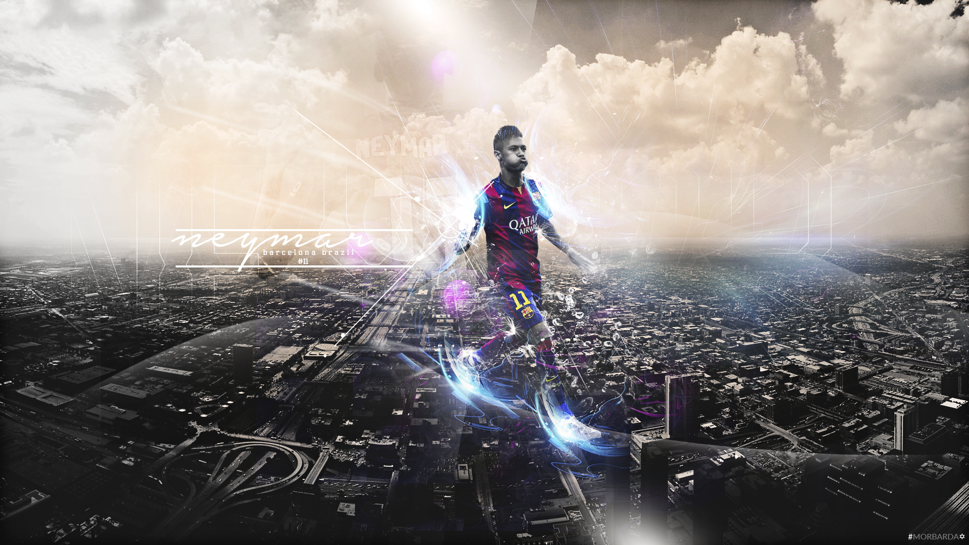 Neymar Wallpaper Barcelona by MorBarda