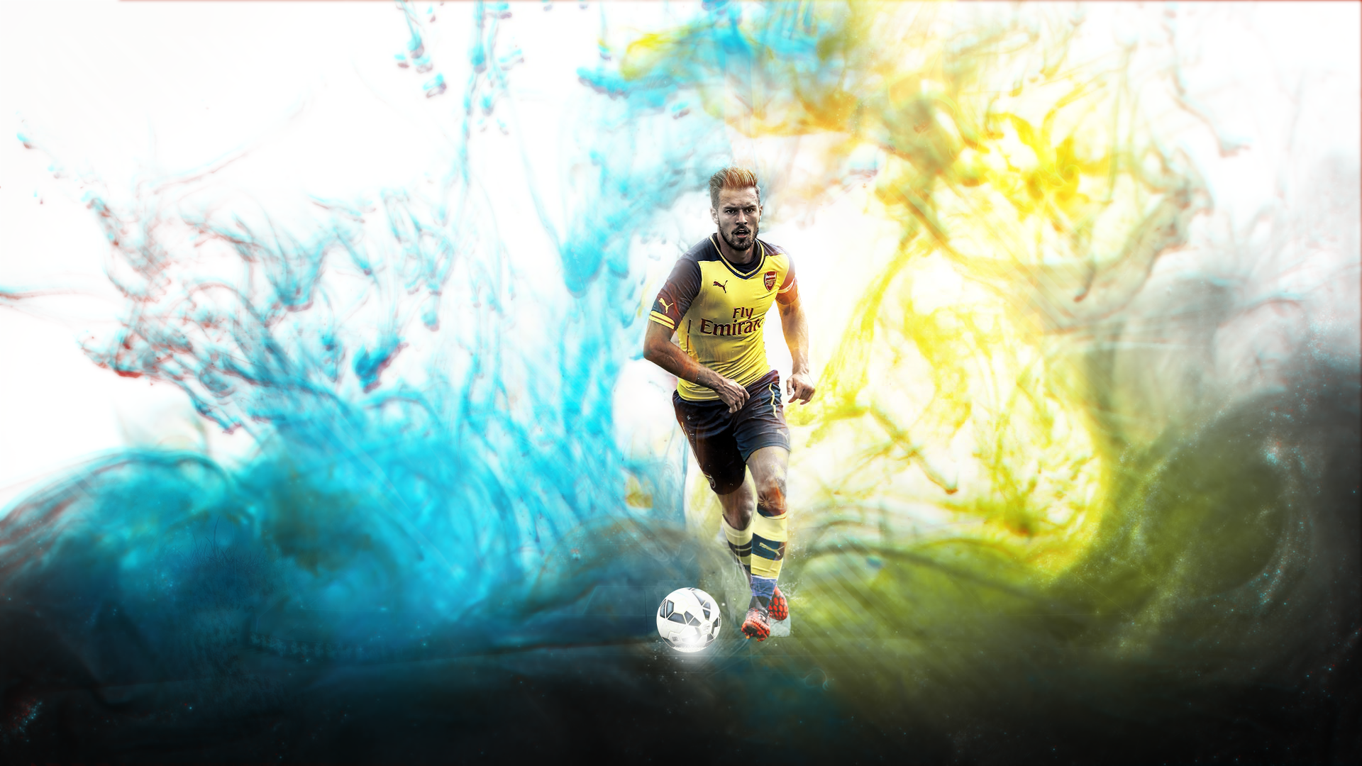 Aaron Ramsey Wallpaper by MorBarda