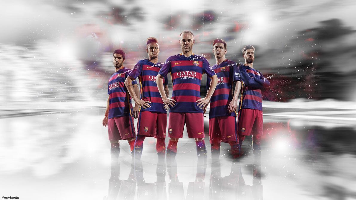 FC Barcelona 2016 wallpaper by MorBarda