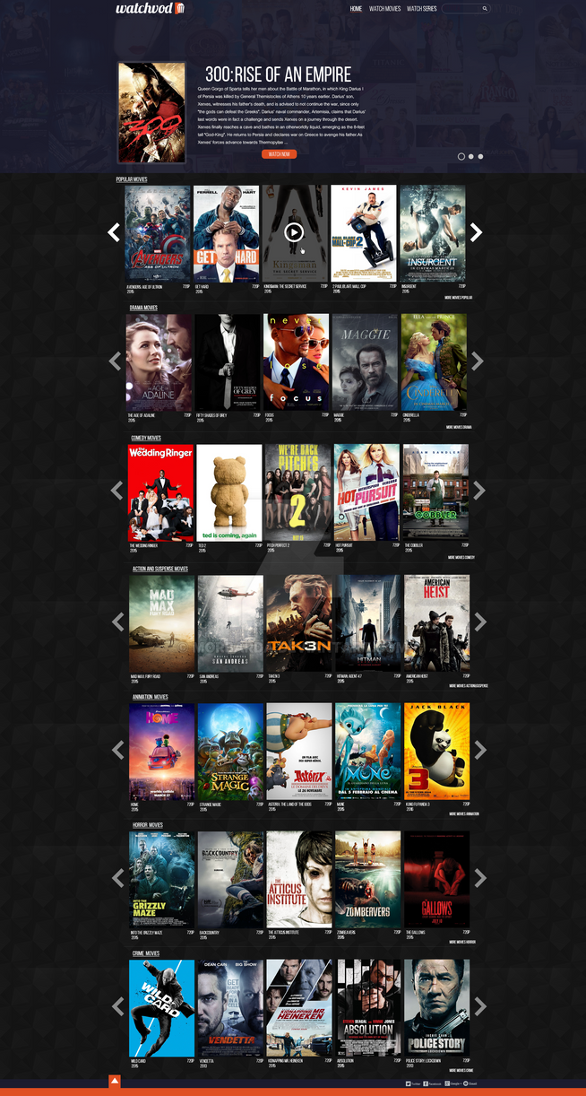 Movies Website - For Sale! by MorBarda