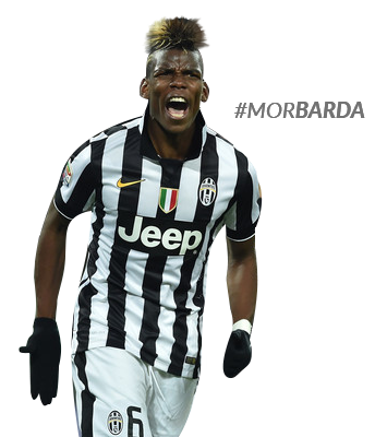 Paul Pogba render by MorBarda